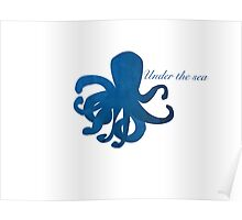 Under the Sea : Octopus  Poster