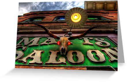 Matts Saloon by Bob Larson