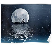 Blue Moon Alone Poster