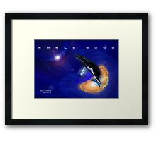 Whale Song part 2 Framed Print