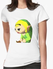 Phantom Hourglass Link Womens Fitted T-Shirt