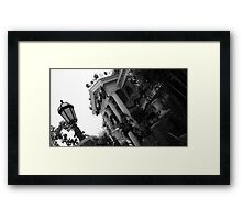 Haunted Holiday Framed Print