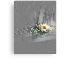 Embossed Canvas Print