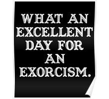 The Exorcist (white) Poster