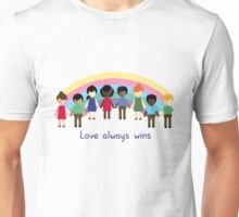 Love always wins Unisex T-Shirt