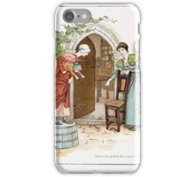 The Pied Piper of Hamlin Robert Browning art Kate Greenaway 0013 Spoiled Women's Chats iPhone Case/Skin