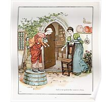 The Pied Piper of Hamlin Robert Browning art Kate Greenaway 0013 Spoiled Women's Chats Poster