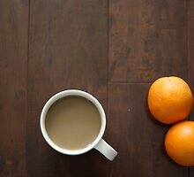 oranges and coffee  by j-k-d