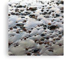 Beach Rocks 10 Canvas Print