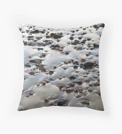 Beach Rocks 10 Throw Pillow