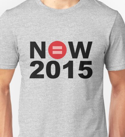 Equal Love Now 2015 Unisex T-Shirt