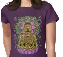 Ascetic Buddha 2 Womens Fitted T-Shirt