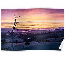 Sunrise over Goulburn River, Australia Poster