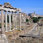 The Roman Forum by hjaynefoster