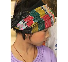 Shan girl Photographic Print