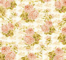 Roses No.59 - Antique by Vintage Nest  Designs