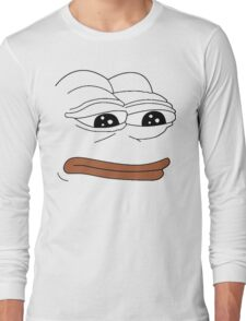Pepe Face Long Sleeve T-Shirt