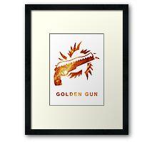 Destiny - Golden Gun Framed Print