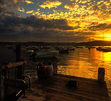 Sittin On a Dock In The Bay - Paradise Beach - The HDR Experience by Philip Johnson