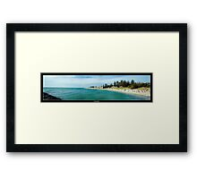 Cottesloe Beach, Western Australia Framed Print