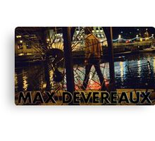 """Max Devereaux """"Milwaukee River"""" T Shirt And Poster Canvas Print"""