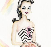 Barbie 2 Vintage Style by travel124