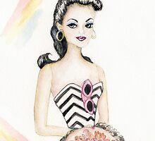 Barbie 2 Vintage Style by Vintage Nest  Designs