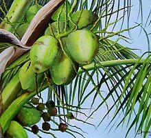 Green Coconuts  01 by Dominica Alcantara
