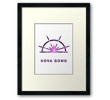 Destiny - Nova Bomb Framed Print