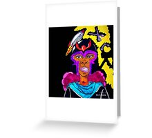 Ms. Magneto Greeting Card