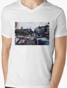 San Fran Street Mens V-Neck T-Shirt
