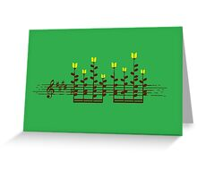 Sound Garden Greeting Card