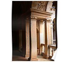 Convento de Cristo . Archway to the Cloister Poster