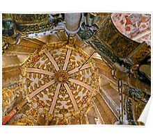 Convento de Cristo. Charola Poster