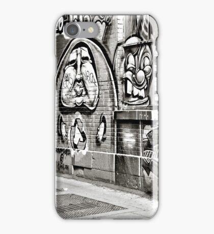Street Art 1 - B&W iPhone Case/Skin
