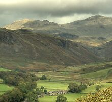 Upper Eskdale...Another View by Jamie  Green