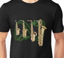Saxophones Unisex T-Shirt