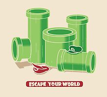 Escape your world by Budi Kwan