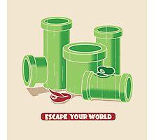 Escape your world Photographic Print