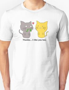 Kitty Courtship... It's a Complicated Matter. T-Shirt