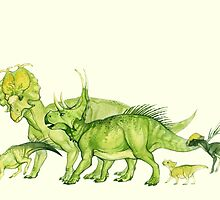 ceratopsians & co. by thoughtsupnorth