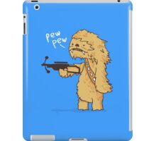 Chewy - pew pew you're dead iPad Case/Skin