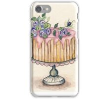 Cake No.2 - Watercolor  iPhone Case/Skin