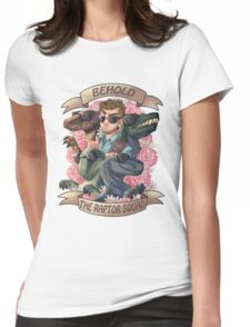 Raptor squad Womens Fitted T-Shirt