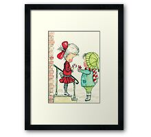 Love to You - Watercolor Framed Print