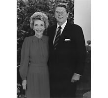 Ronald And Nancy Reagan Photographic Print