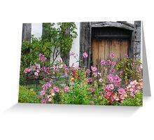 Mary Arden's house, Wilmcote, Warwickshire, England Greeting Card