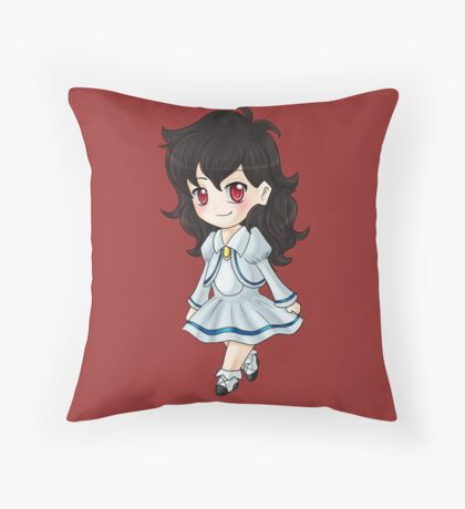 Little Rue  Throw Pillow