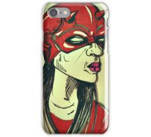She Dares iPhone Case/Skin