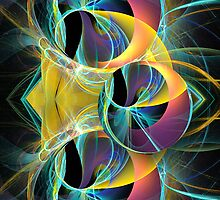The fractal round-trip by walstraasart